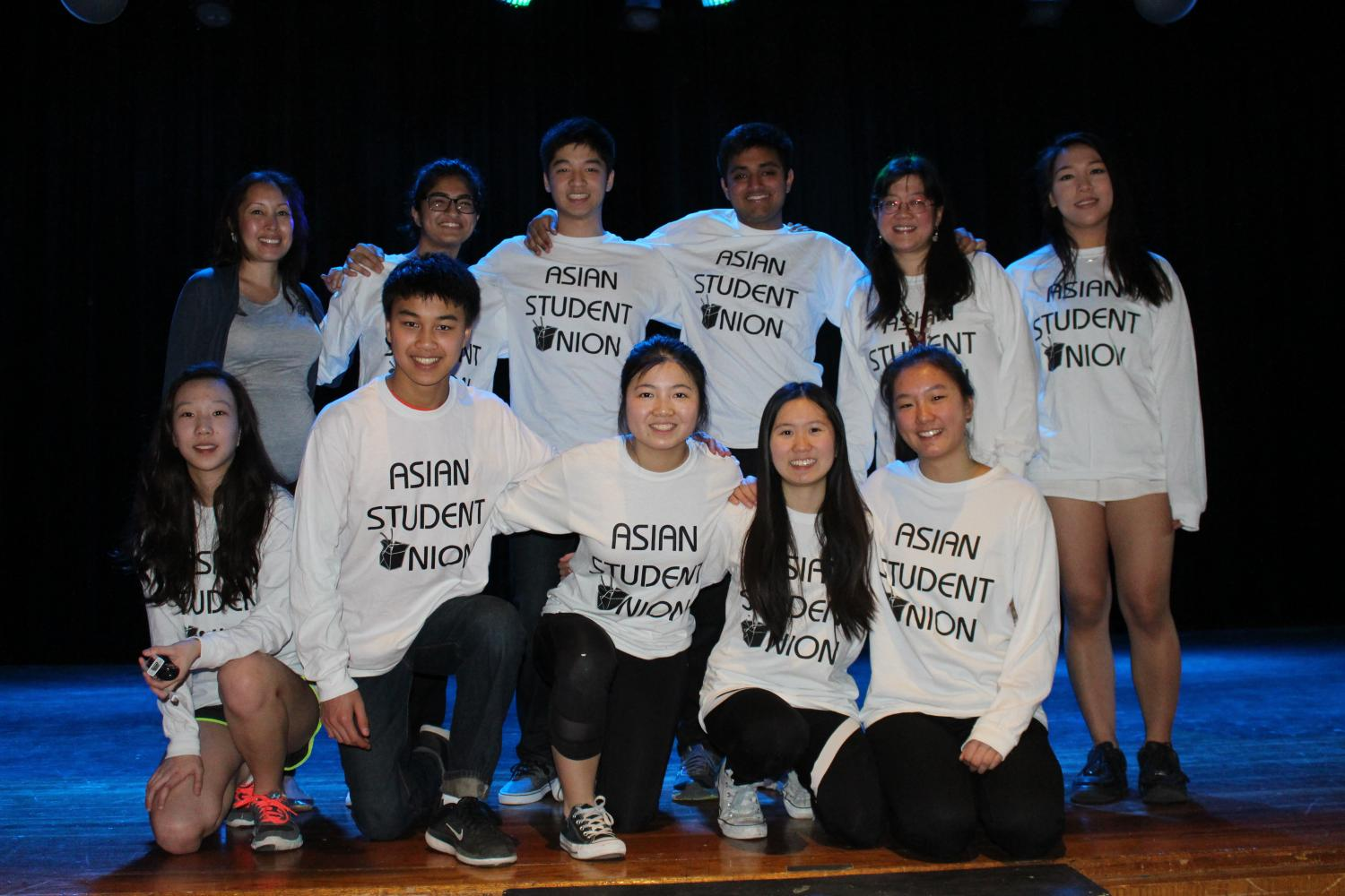 Asian+Student+Union+officers+and+advisers+on+stage+after+the+assembly+%28from+left+to+right%29.++Row+1%3A+Co-adviser+Kim+Dang%2C+Junior+Zoya+Tajuddin%2C+Senior+Alex+Chang%2C+Senior+Kabir+Gupta%2C+Co-adviser+Angela+Lee%2C+Senior+Margaret+Yang.+Row+2%3A+Senior+Sarah+Yi%2C+Freshman+Aidan+Chen%2C+Junior+Grace+Wang%2C+Senior+Angel+Zhao%2C+Senior+Esther+Tzau.+PHOTO%2FKaitlyn+Meslin