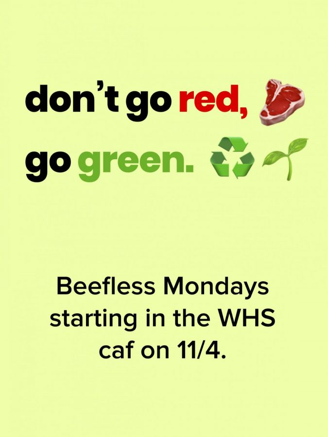 Juniors+introduce+Meatless+Monday+initiative+to+WHS