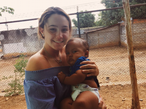 """I went to Nicaragua [in the spring] and I did service. I went on vaccine trips into local villages. It was a very humbling experience. I came home and I cried at the fact that I was in a house with air conditioning because the hospital's didn't have air conditioning. Nobody has air conditioning and everybody has tin roofs,"" sophomore Sarah O'Sullivan said."