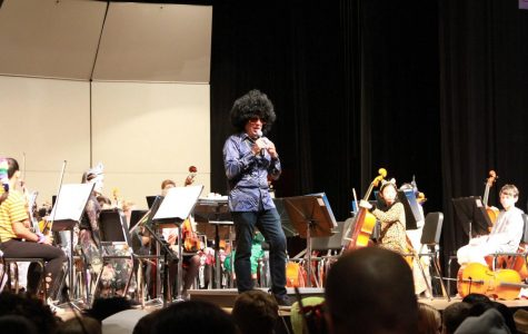 WHS music groups perform at the annual masquerade concert